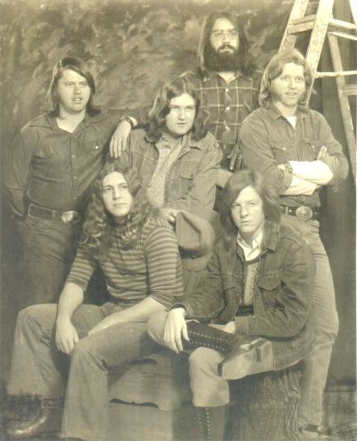 From left: Toy, Doug, George, Jerry, Paul, Tommy