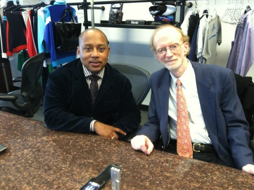 Interviewing Daymond John