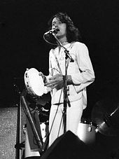 Jon Anderson performing in 1973 (Photo: Hunter Desportes)