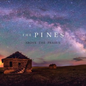 pines above the prairie