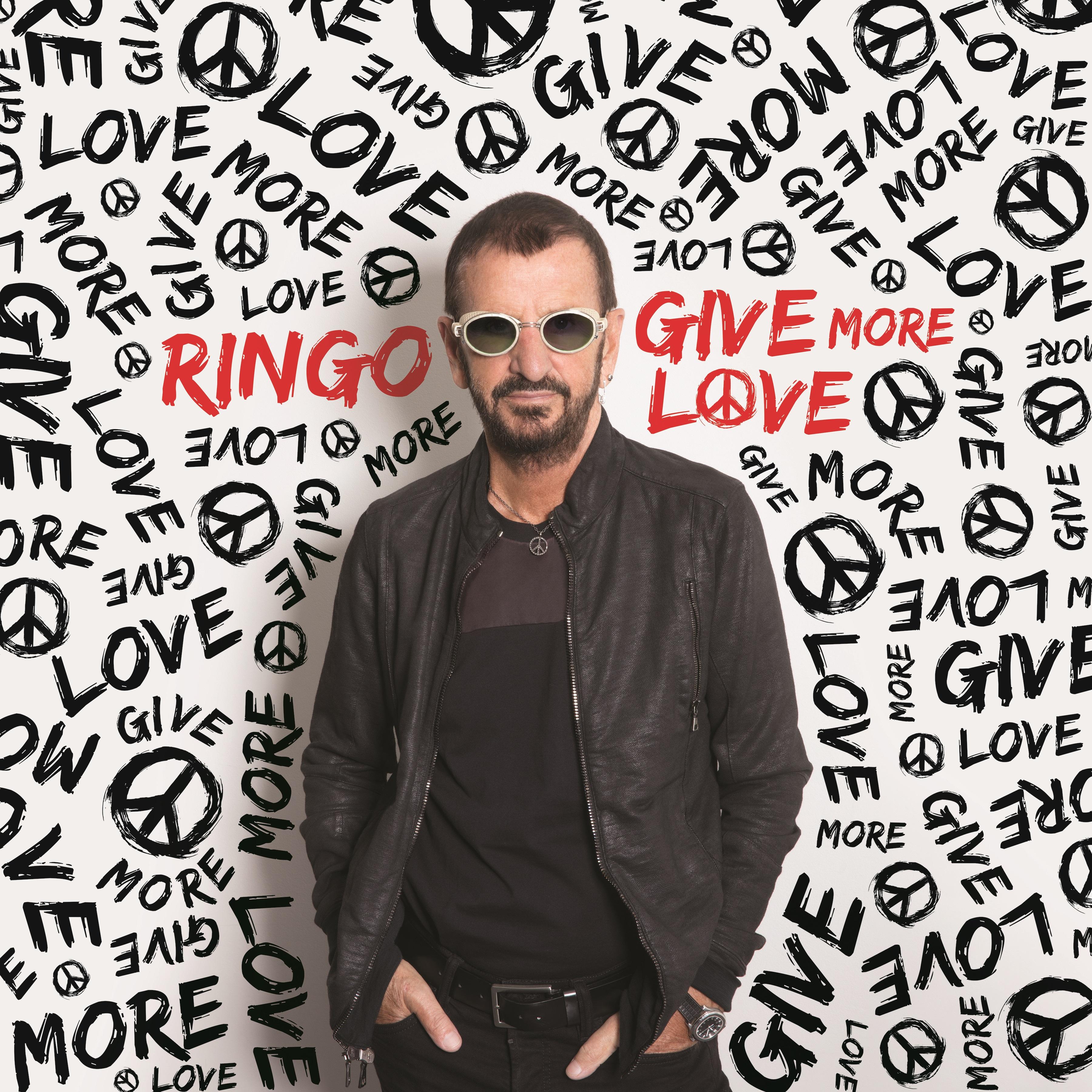 cover art-Ringo Starr-Give More Love