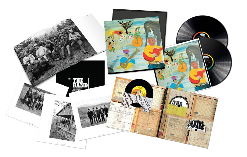 product shot-box set-The Band-Music from Big Pink-50th Anniv Edition