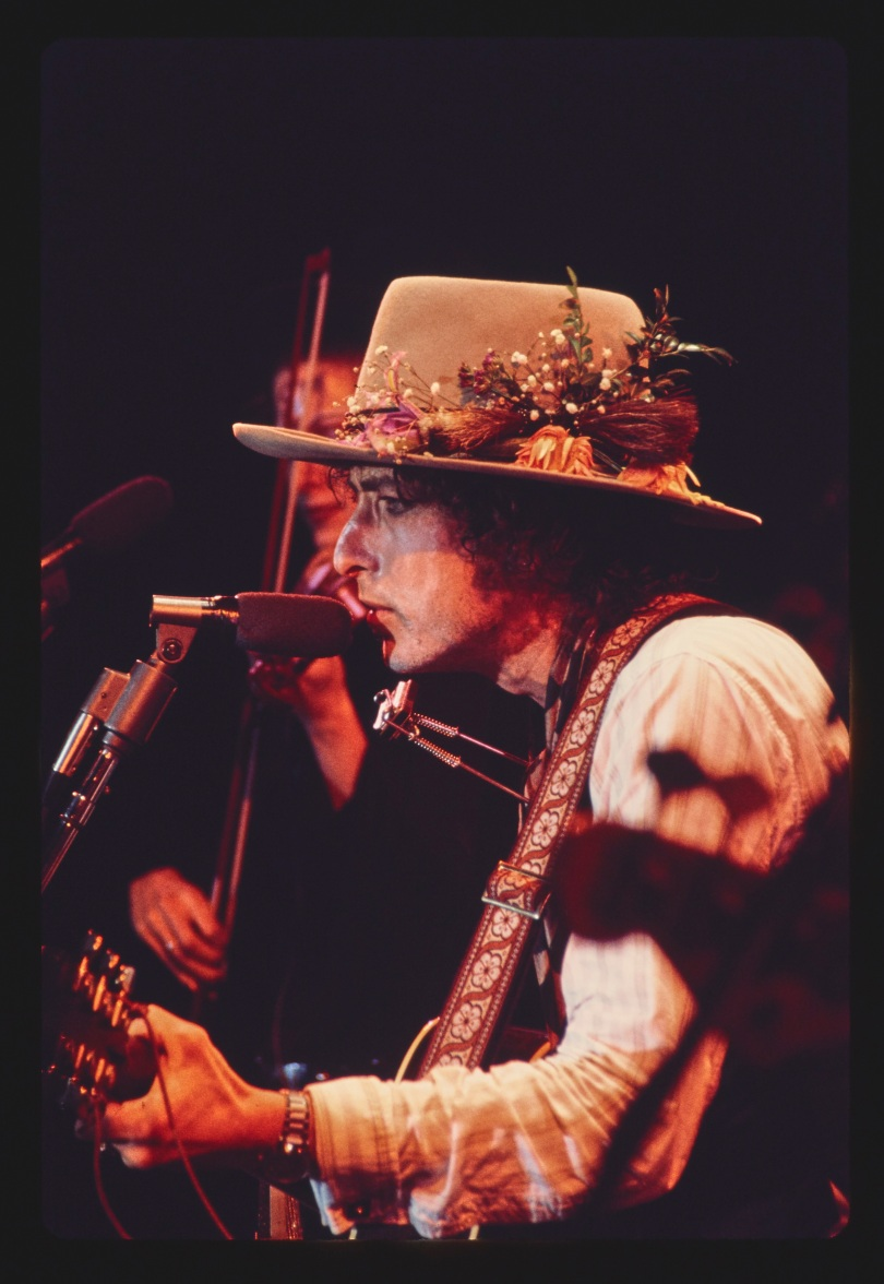 Dylan on Rolling ThunderPhoto Credit Ken Regan