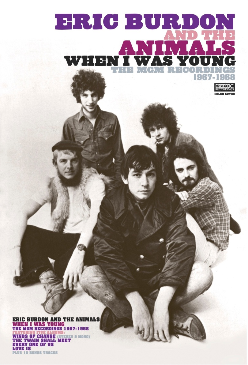 Burdon & Animals—When I Was Young Poster
