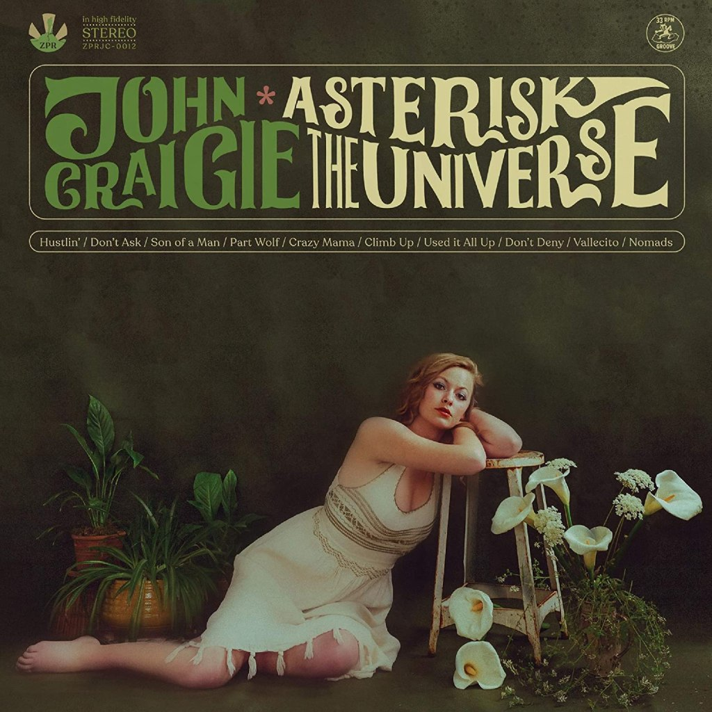 John Craigie Asterisk the Universe CD art